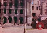 Image of bomb damaged buildings Berlin Germany, 1945, second 11 stock footage video 65675026247