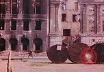 Image of bomb damaged buildings Berlin Germany, 1945, second 12 stock footage video 65675026247