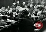 Image of war criminal Trials Nuremberg Germany, 1946, second 5 stock footage video 65675026252