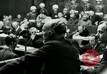 Image of war criminal Trials Nuremberg Germany, 1946, second 6 stock footage video 65675026252