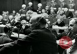 Image of war criminal Trials Nuremberg Germany, 1946, second 9 stock footage video 65675026252