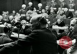 Image of war criminal Trials Nuremberg Germany, 1946, second 10 stock footage video 65675026252
