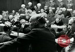 Image of war criminal Trials Nuremberg Germany, 1946, second 11 stock footage video 65675026252