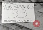 Image of 4th division marines Iwo Jima, 1945, second 1 stock footage video 65675026261
