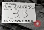 Image of 4th division marines Iwo Jima, 1945, second 3 stock footage video 65675026261