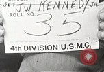 Image of 4th Division Marines Iwo Jima, 1945, second 1 stock footage video 65675026263