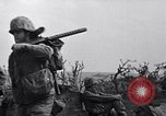 Image of Marines moving along a ridge Iwo Jima, 1945, second 10 stock footage video 65675026281