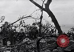 Image of Marines clearing Japanese defenders from a ridge Iwo Jima, 1945, second 12 stock footage video 65675026282