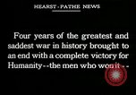 Image of Allied Leaders in World War I Europe, 1918, second 1 stock footage video 65675026310