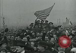 Image of Paris armistice celebration Paris France, 1918, second 9 stock footage video 65675026311