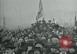 Image of Paris armistice celebration Paris France, 1918, second 11 stock footage video 65675026311