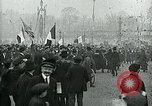 Image of Armistice celebration in Paris end of World War I Paris France, 1918, second 4 stock footage video 65675026312