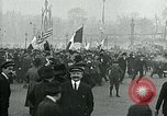 Image of Armistice celebration in Paris end of World War I Paris France, 1918, second 5 stock footage video 65675026312