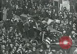 Image of armistice celebration with effigy Paris France, 1918, second 2 stock footage video 65675026313