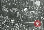 Image of armistice celebration with effigy Paris France, 1918, second 3 stock footage video 65675026313
