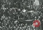 Image of armistice celebration with effigy Paris France, 1918, second 4 stock footage video 65675026313