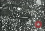 Image of armistice celebration with effigy Paris France, 1918, second 6 stock footage video 65675026313