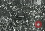 Image of armistice celebration with effigy Paris France, 1918, second 7 stock footage video 65675026313