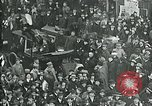 Image of armistice celebration with effigy Paris France, 1918, second 8 stock footage video 65675026313