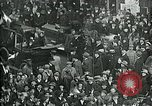 Image of armistice celebration with effigy Paris France, 1918, second 9 stock footage video 65675026313