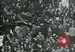 Image of armistice celebration with effigy Paris France, 1918, second 10 stock footage video 65675026313