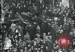 Image of armistice celebration with effigy Paris France, 1918, second 11 stock footage video 65675026313