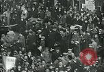 Image of armistice celebration with effigy Paris France, 1918, second 12 stock footage video 65675026313