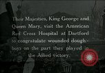 Image of King George and Queen visit injured American soldiers Kent England, 1918, second 1 stock footage video 65675026314
