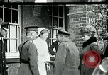 Image of King George and Queen visit injured American soldiers Kent England, 1918, second 2 stock footage video 65675026314
