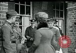Image of King George and Queen visit injured American soldiers Kent England, 1918, second 11 stock footage video 65675026314