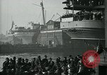 Image of USS George Washington Hoboken New Jersey USA, 1918, second 7 stock footage video 65675026318