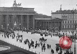 Image of Brandenburg gate Berlin Germany, 1919, second 2 stock footage video 65675026323