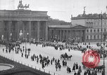 Image of Brandenburg gate Berlin Germany, 1919, second 3 stock footage video 65675026323