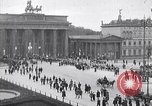 Image of Brandenburg gate Berlin Germany, 1919, second 4 stock footage video 65675026323