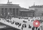 Image of Brandenburg gate Berlin Germany, 1919, second 9 stock footage video 65675026323
