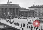 Image of Brandenburg gate Berlin Germany, 1919, second 10 stock footage video 65675026323