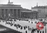 Image of Brandenburg gate Berlin Germany, 1919, second 11 stock footage video 65675026323