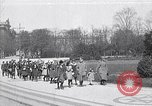 Image of school children demonstrate Berlin Germany, 1919, second 1 stock footage video 65675026325