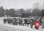 Image of school children demonstrate Berlin Germany, 1919, second 5 stock footage video 65675026325