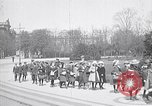 Image of school children demonstrate Berlin Germany, 1919, second 6 stock footage video 65675026325