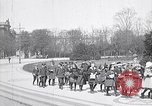 Image of school children demonstrate Berlin Germany, 1919, second 9 stock footage video 65675026325