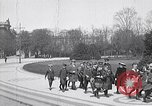 Image of school children demonstrate Berlin Germany, 1919, second 11 stock footage video 65675026325
