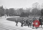 Image of school children demonstrate Berlin Germany, 1919, second 12 stock footage video 65675026325