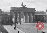 Image of Brandenburg Gate Berlin Germany, 1919, second 1 stock footage video 65675026330