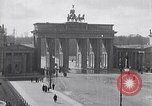Image of Brandenburg Gate Berlin Germany, 1919, second 3 stock footage video 65675026330