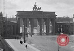 Image of Brandenburg Gate Berlin Germany, 1919, second 4 stock footage video 65675026330