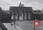 Image of Brandenburg Gate Berlin Germany, 1919, second 5 stock footage video 65675026330