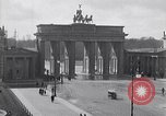 Image of Brandenburg Gate Berlin Germany, 1919, second 8 stock footage video 65675026330