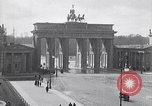 Image of Brandenburg Gate Berlin Germany, 1919, second 9 stock footage video 65675026330