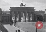 Image of Brandenburg Gate Berlin Germany, 1919, second 12 stock footage video 65675026330